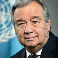 Photo of Secretary-General António Guterres