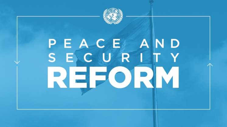 Peace and Security Reform