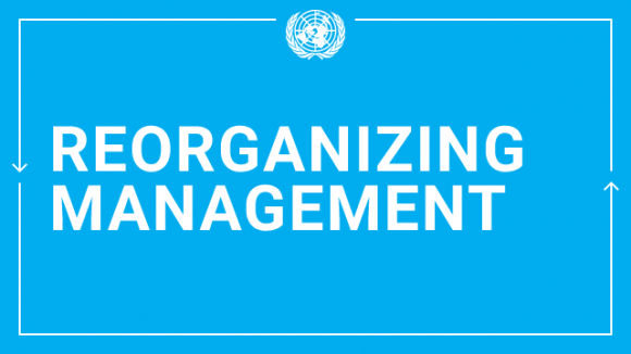 Reorganizing Management