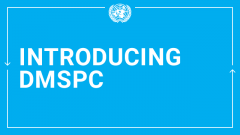 Introducing DMSPC